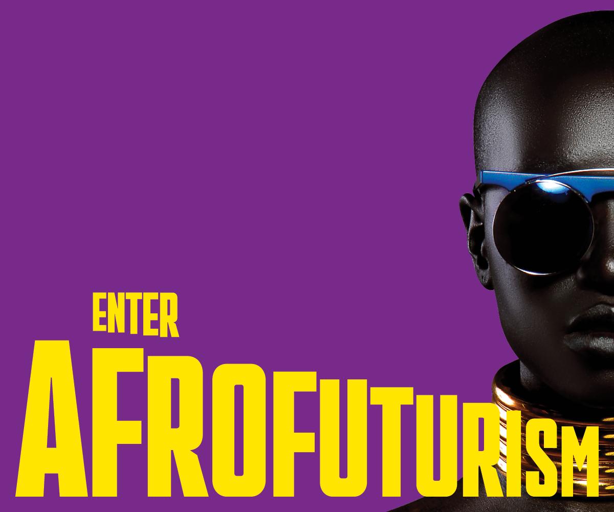 Enter Afrofuturism Banner